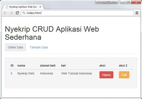 membuat web sederhana dengan css cara membuat aplikasi web sederhana nyekrip