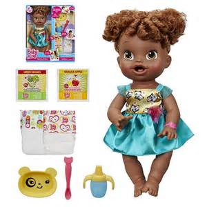 Alive my baby all gone doll african american hasbro baby alive