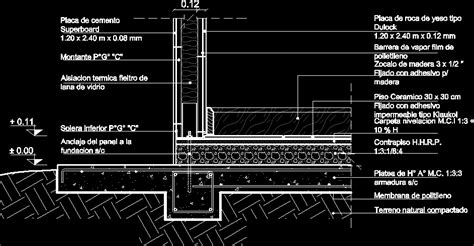 stell steel frame construction system details dwg detail