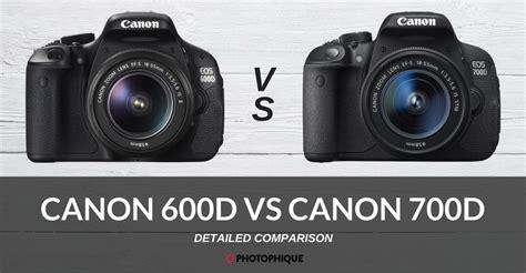 tutorial fotografi canon eos 600d canon 600d vs canon 700d 2018 comparison reviews price