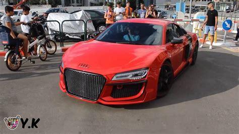 Audi R8 V10 Tuning by Audi R8 V10 By Regula Tuning Amazing Revs Sound