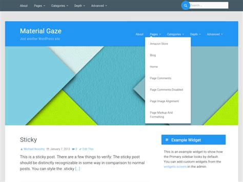 wordpress themes material design free top 15 material design themes ewebdesign