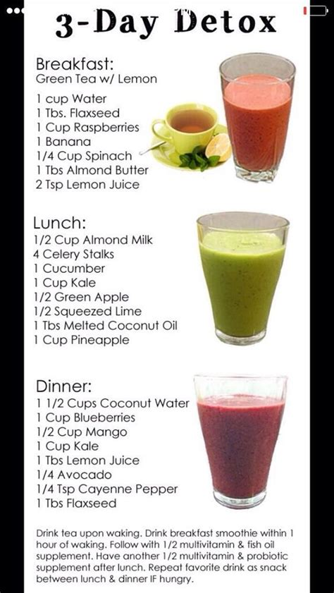 Detox For Test In 3 Weeks by Fast Easy Way To Belly 3 Day Detox Health