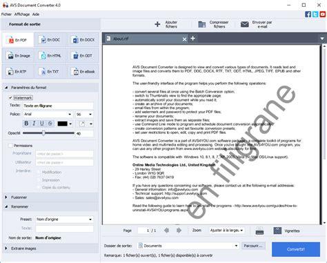 format fichier djvu avs4you document converter convertissez word en pdf