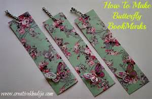 How To Make A Paper Bookmark - handmade bookmarks tip junkie