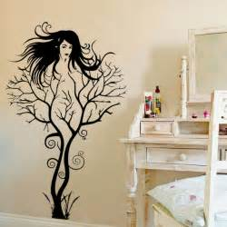tree wall sticker diy woman home decorations