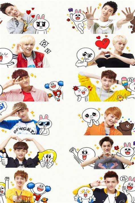 exo chibi iphone wallpaper exo phone wallpaper wallpapersafari