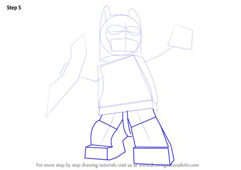 tutorial lego batman learn how to draw lego batman lego step by step