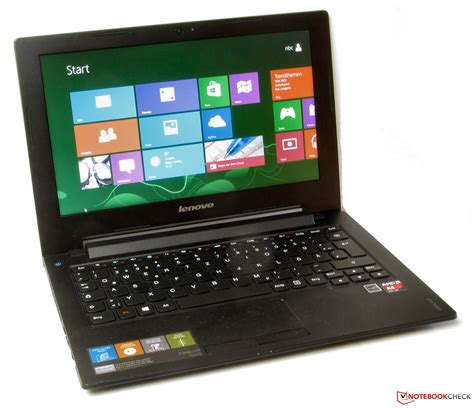 Laptop Lenovo S215 review lenovo ideapad s215 59372287 subnotebook notebookcheck net reviews