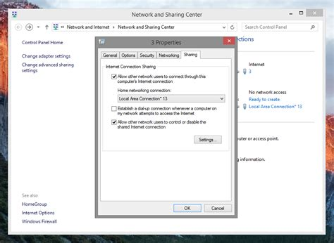 cara membuat hotspot di laptop ubuntu cara membuat wifi hotspot di laptop windows 8 dan windows 8 1