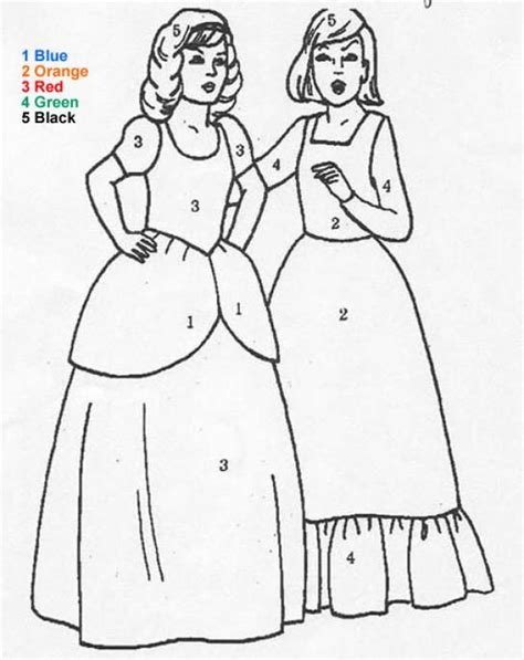 princess coloring pages by numbers princesses coloring pages hellokids com
