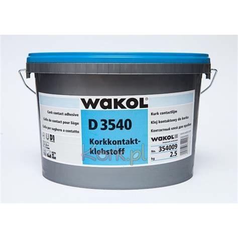 cork contact adhesive wakol d 3540 0 8kg