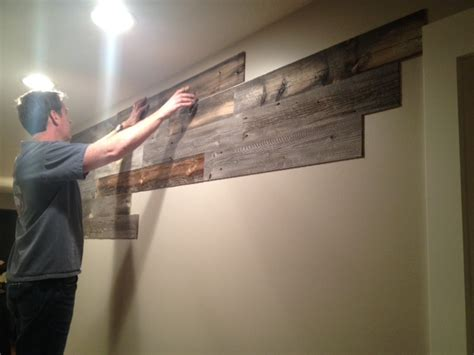 Peel and stick wood wall paneling is creative inspiration for us get