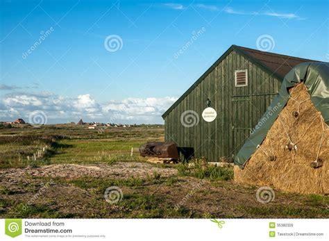 saxony house spiekeroog landscape germany editorial stock image
