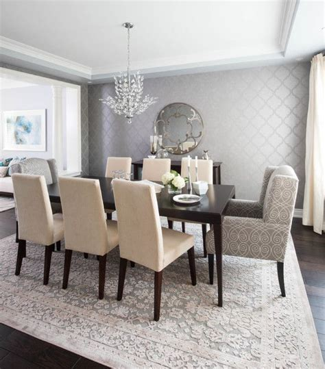 designer dining room tables best 25 dining room wallpaper ideas on wall