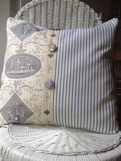 farmhouse stripe chair cushions 25 best ideas about ticking fabric on