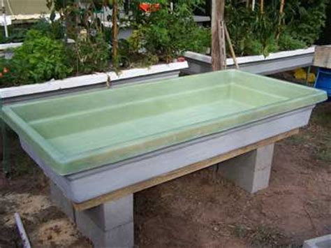 aquaponics grow bed the types of aquaponics grow bed