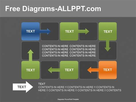 6 ppt download 6 cycle diagram powerpoint template download free