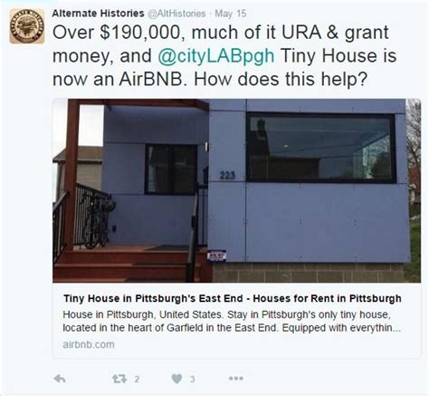 tiny house bnb pittsburgh s tiny house keeps popping up on airbnb could