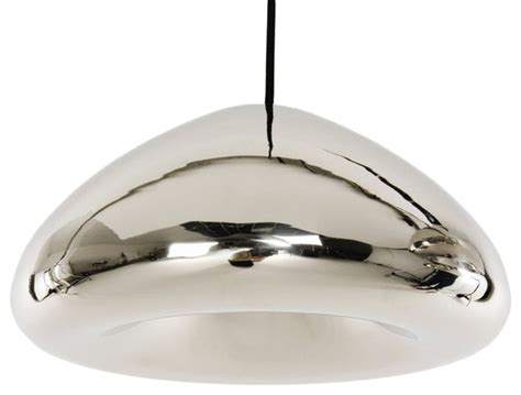 stainless steel kitchen light fixtures void light polished stainless steel contemporary
