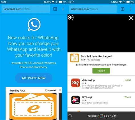 colour themes for whatsapp beware a whatsapp link offering new color themes is a scam