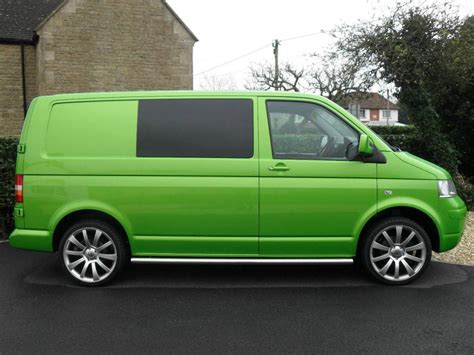 green volkswagen van show of green van s page 3 vw t4 forum vw t5 forum