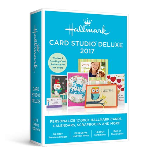 free card software greeting cards hallmark card studio deluxe 2017