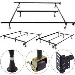 Where To Buy Metal Bed Frame Goplus Metal Bed Frame Adjustable Size W