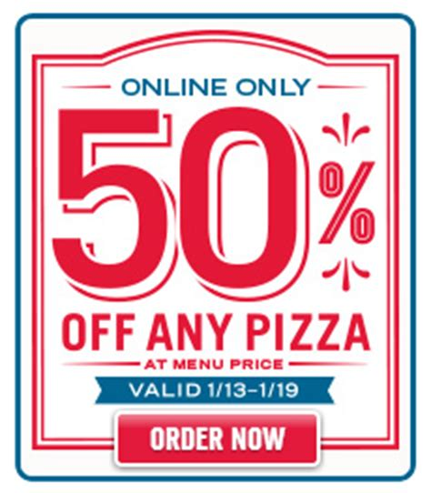 domino pizza online delivery order restaurant deals two free sliders at white castle 50