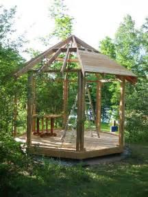 How To Build An Octagon Gazebo by Woodsgood Cedar Gazebo Construction Notes