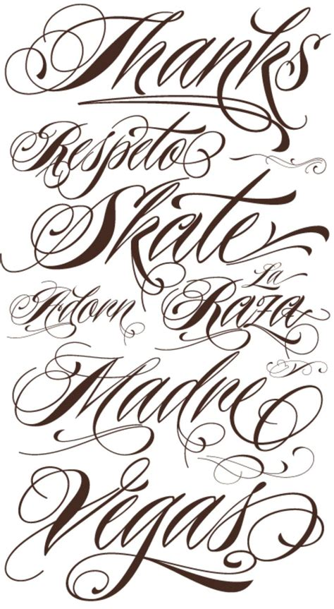 writing tattoo fancy cursive fonts alphabet for tattoos fancy cursive