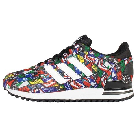 adidas originals zx 700 multi color black mens running shoes sneakers g27067 ebay