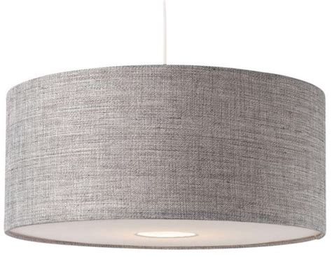 gray drum pendant light large drum ceiling l shades energywarden