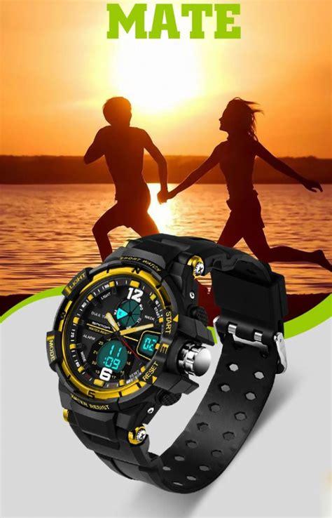 Sanda Jam Tangan Sporty Pria Sd 320 sanda jam tangan sporty pria sd 289 black jakartanotebook
