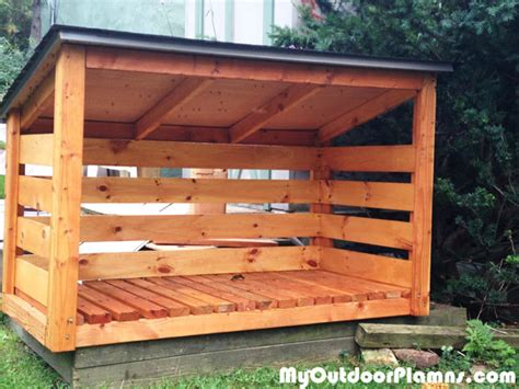 backyard wood shed plans myoutdoorplans