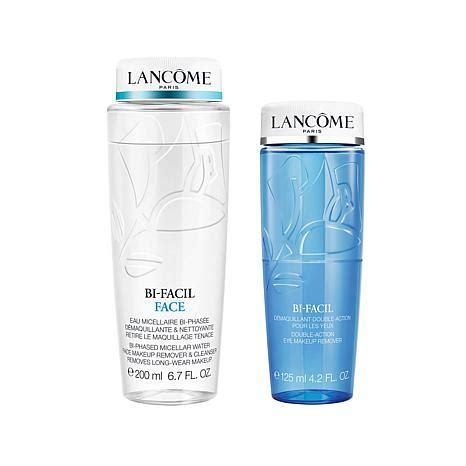 Cleanser Bi Facil Lancome lanc 244 me bi facil and eye cleanser duo 8445188 hsn