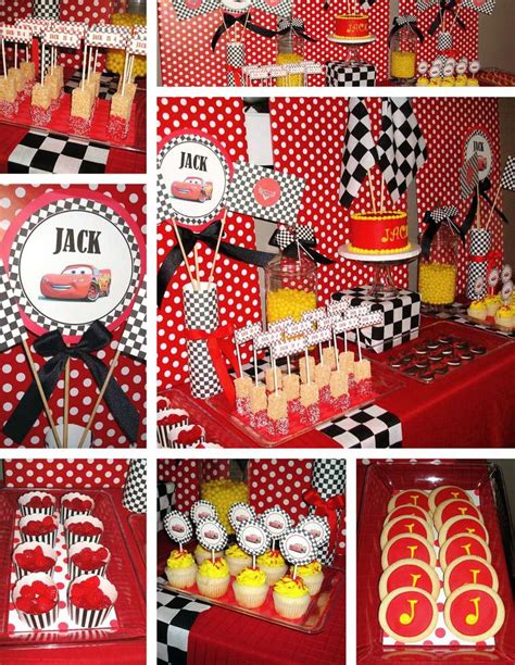 cars themed birthday ideas disney s cars birthday party ideas photo 9 of 10 catch
