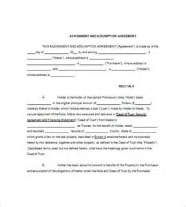 assignment agreement template 11 assignment of promissory note free sle exle