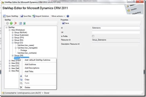 crm 2011 layout xml jump crm 2011 tool sitemap editor for crm 2011 microsoft