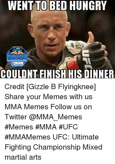 Mma Memes - funny hungry and mma memes of 2016 on sizzle