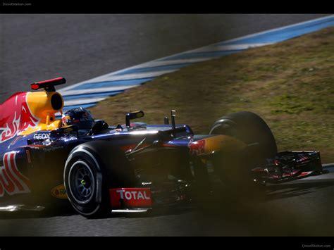 bull infiniti infiniti bull racing pre season test 2012 car