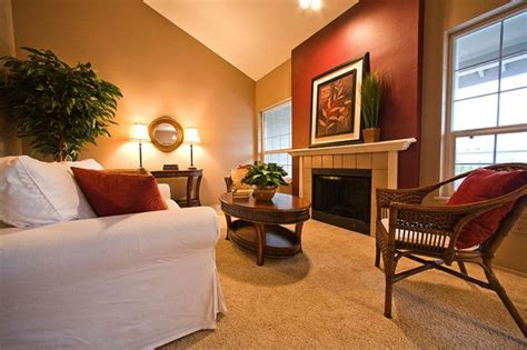 wall color schemes living room light caramel color new livingroom ideas