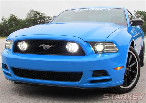 2013 mustang fog light kit mustang gt style led fog light kit fits v6 and 302