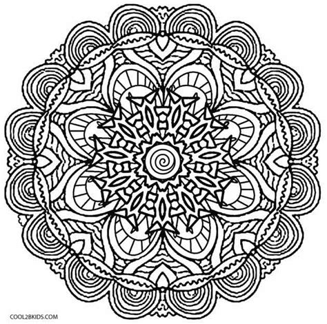 printable kaleidoscope coloring pages for adults printable kaleidoscope coloring pages for kids cool2bkids