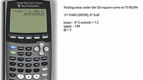 complete the table calculator calculating chi square area ti 83 ti 84