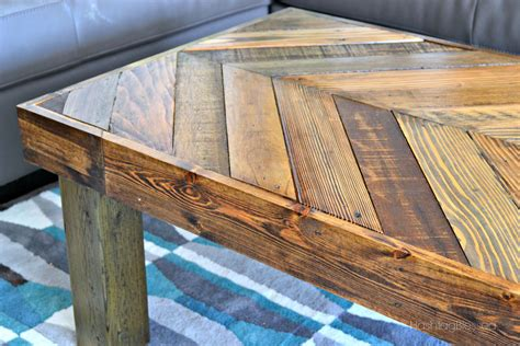 Diy Pallet Coffee Table Hashtagblessed How To Build A Pallet Coffee Table