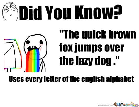 the fox jumped the lazy the brown fox jumps the lazy by alkeeloves18 meme center