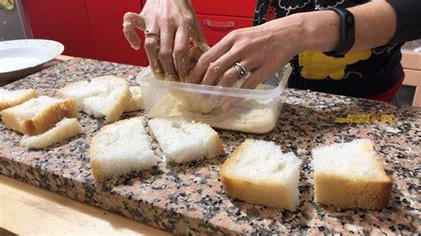 mozzarella in carrozza al forno senza uova mozzarella in carrozza al forno senza glutine con macchina