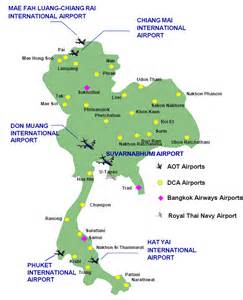 Airports In List Of Airports In Thailand