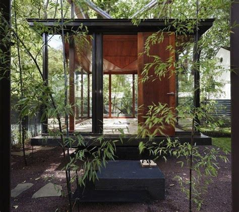 japanese inspired house meditation house plans quot floating quot glass home